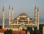 A photo of the Blue Mosque in Istanbul
